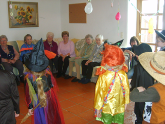Faschingsfeier mit Senioren